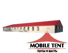 Классический шатёр 15х35 Схема 1