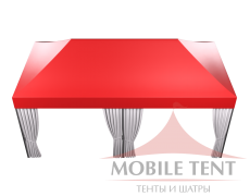 Мобильный шатёр Hard Prof 3х6 Схема