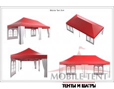 Мобильные шатры-трансформеры Prof 4х8 Схема 5