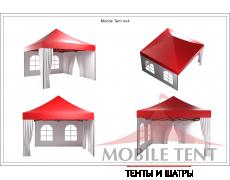 Мобильный шатёр Slim Prof 4х4 Схема 5