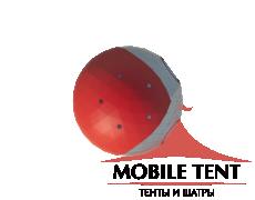 Сферический шатер диаметр 12 м Схема 4