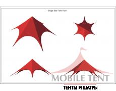 Шатёр Звезда (Диаметр 16 м)