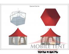 Шестигранный шатёр Римини (Диаметр 6 м) Схема 5