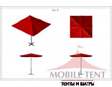 Зонт Desert 4х4 Схема 1