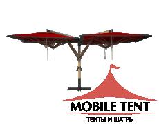 Зонт Quatro 6х6 Схема 4