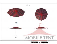 Зонт Tiger диаметр 4 Схема 1