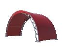 Арочный шатёр 10х3 — 30 м² Схема 3
