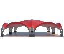 Арочный шатёр 12х12 — 144 м² Схема 3