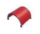 Арочный шатёр 16х16 — 256 м² (B) Схема 5