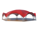 Арочный шатёр 21x19 м Схема 3