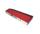 Классический шатёр 10х30 Схема