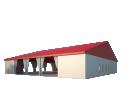 Классический шатёр 25х25 Схема 1