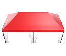 Мобильные шатры-трансформеры Prof 4х8 Схема