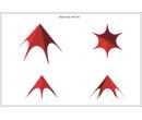 Шатёр Звезда (Диаметр 8 м) Схема 5