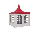 Шатёр Пагода Стандарт 3х3 Схема 2
