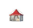 Шестигранный шатёр Лондон (Диаметр 6 м) Схема 3