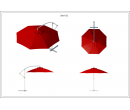 Зонт Side диаметр 3 Схема 1